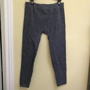 French Laundry Grey Thick Long Leggings